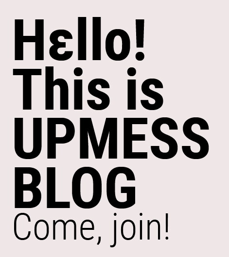 UPMESS graphic design