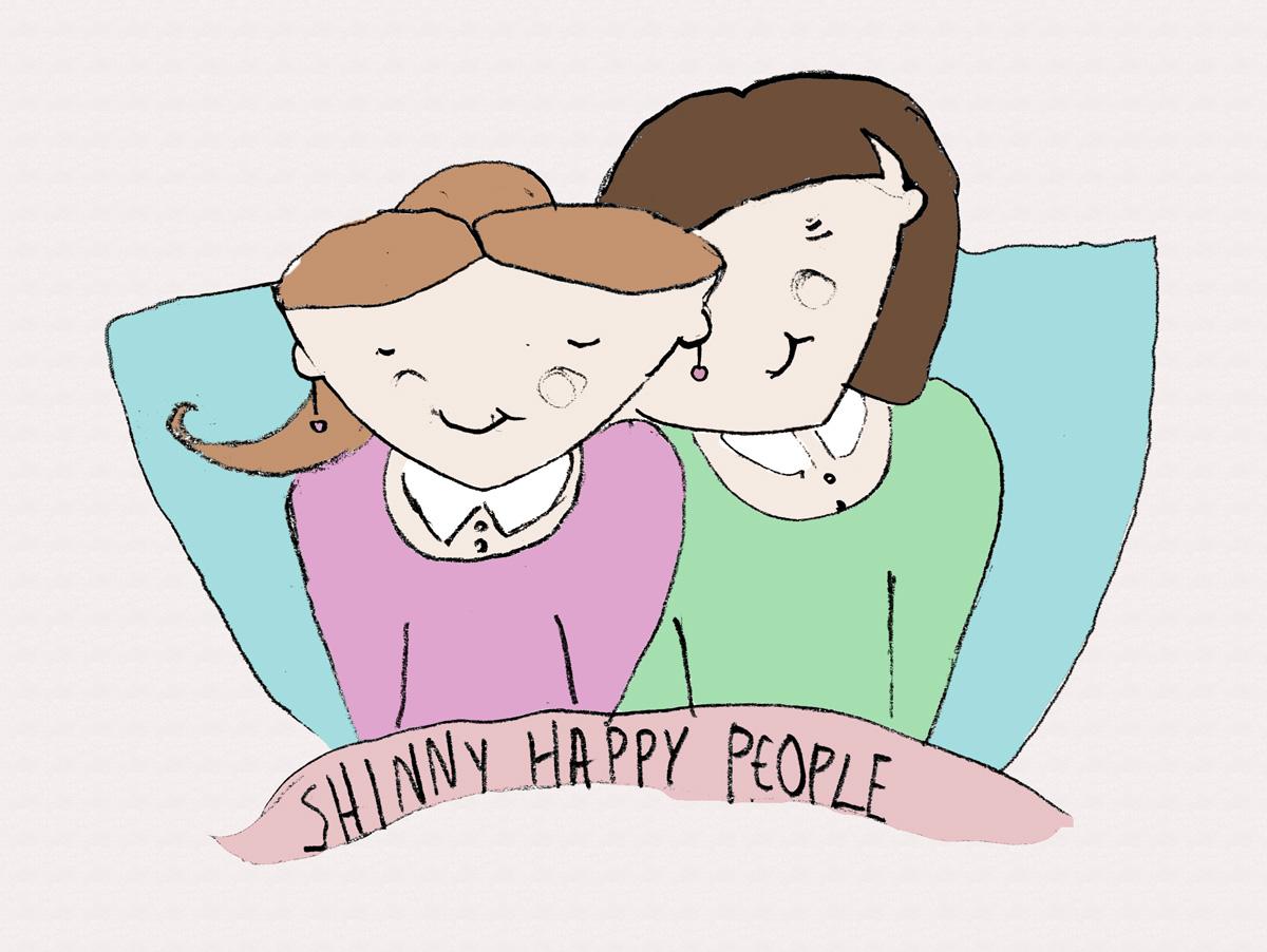Χαρούμενοι, φωτεινοί άνθρωποι